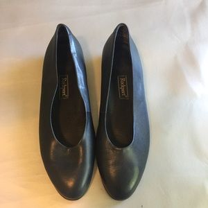 Rockport navy retro style flat shoes
